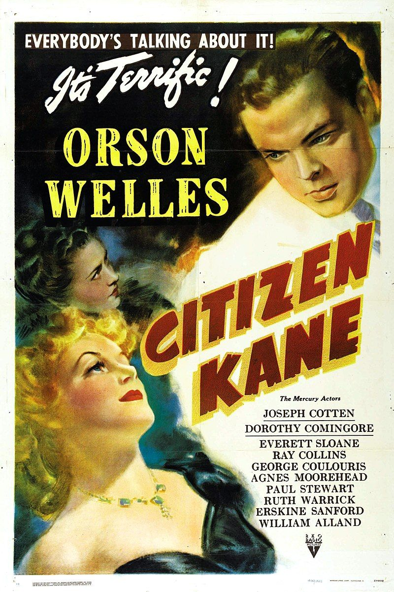 800px Citizen Kane Poster 1941 Style B Unrestored