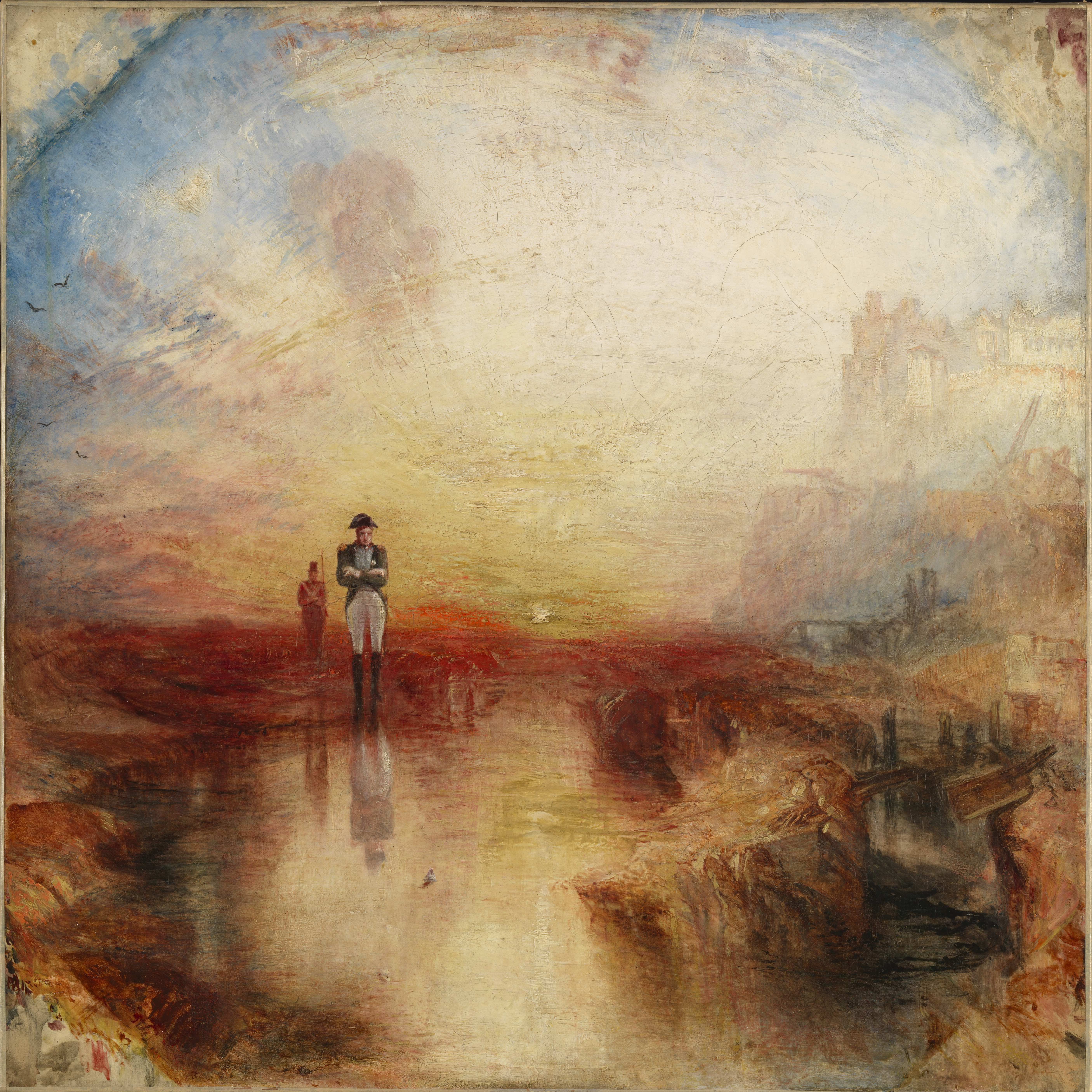 Jmw Turner War  The Exile And The Rock Limpet Exhibited 1842 Tate